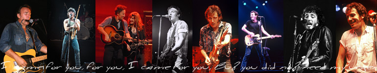 FOR YOU - A New Bruce Springsteen Book